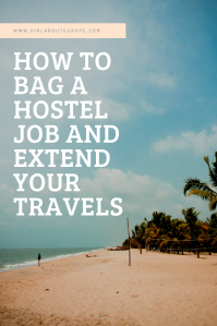 Why you should work in a hostel