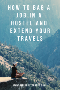 Hostels Girl ABOUT Europe budget travel